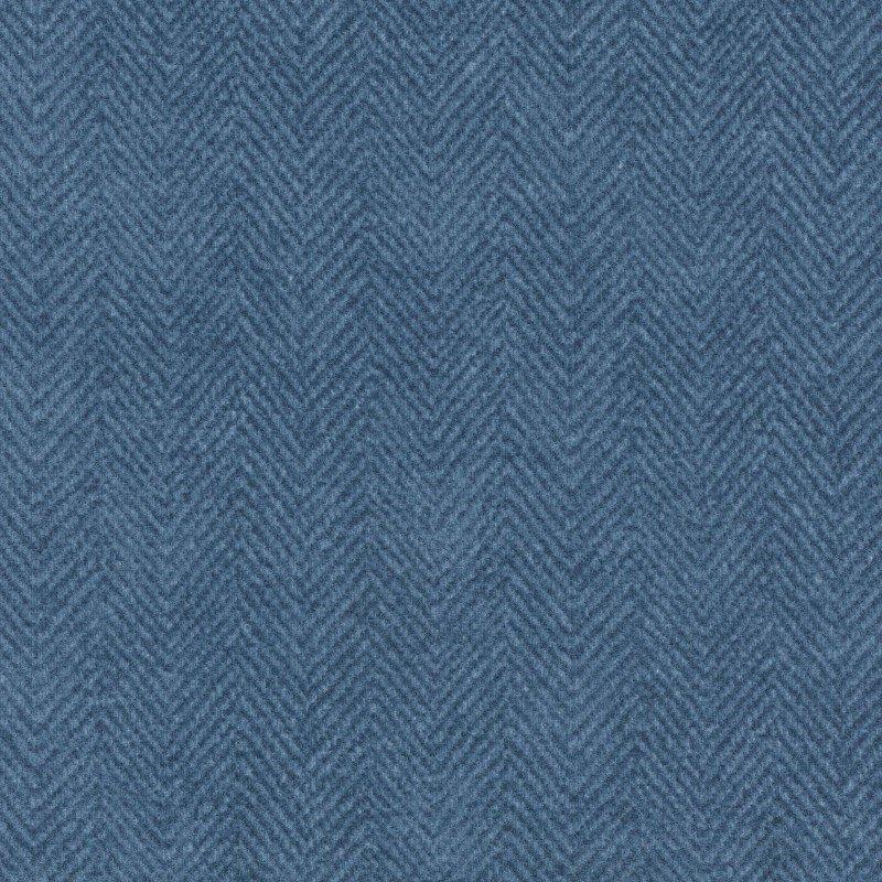 Woolies Flannel Herringbone Blue (MASF1841-B3)
