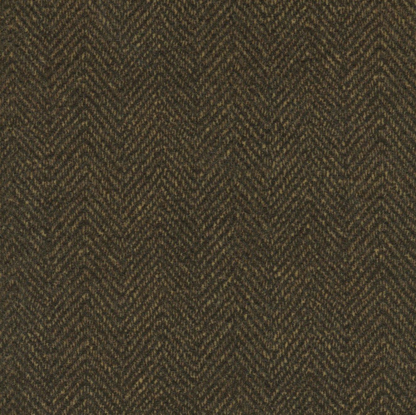 Woolies Flannel Herringbone Double Espresso (MASF1841-J2)