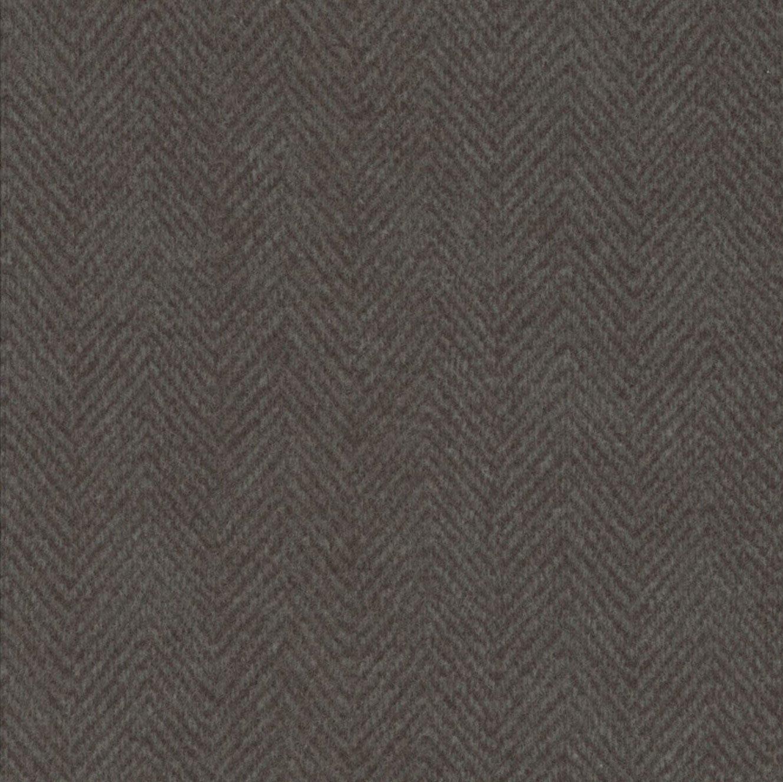 Woolies Flannel Herringbone Medium Gray (MASF1841-K3)