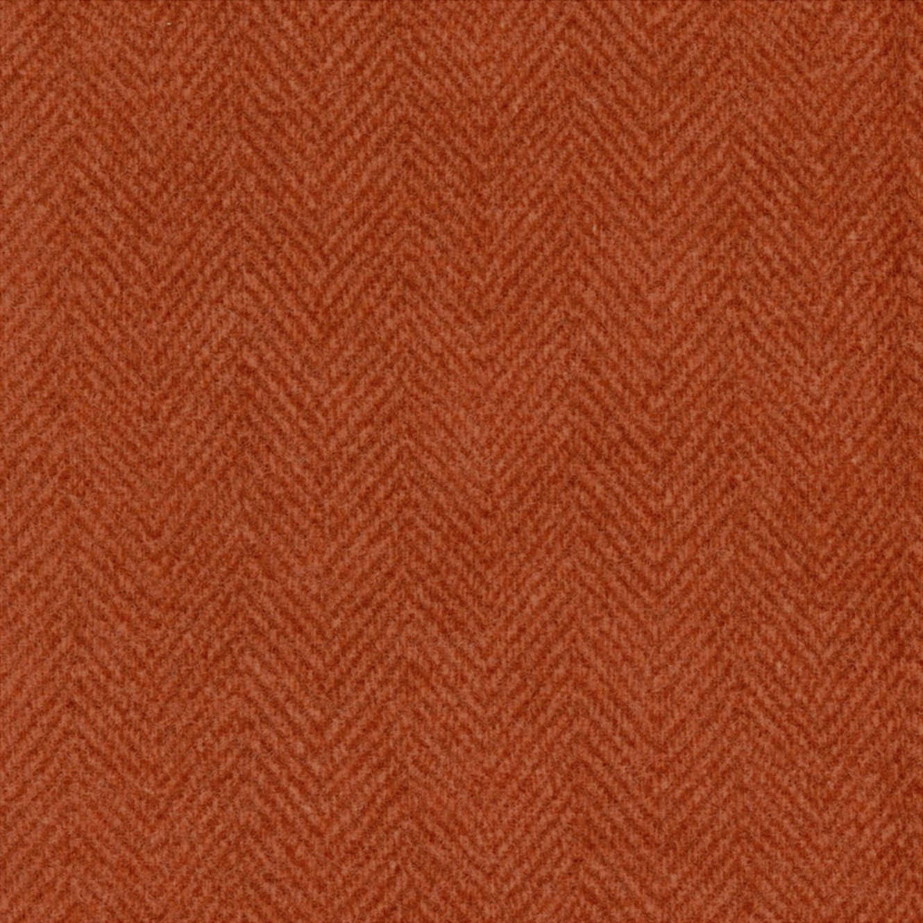Woolies Flannel Herringbone Spice Orange (MASF1841-M)