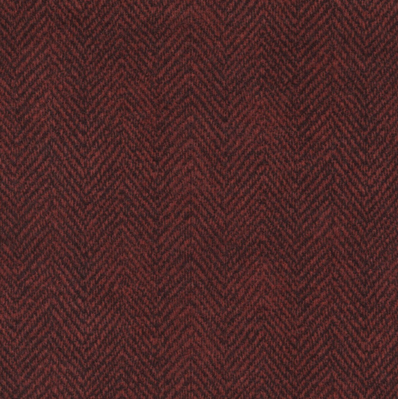 Woolies Flannel Herringbone Dark Red (MASF1841-R2)