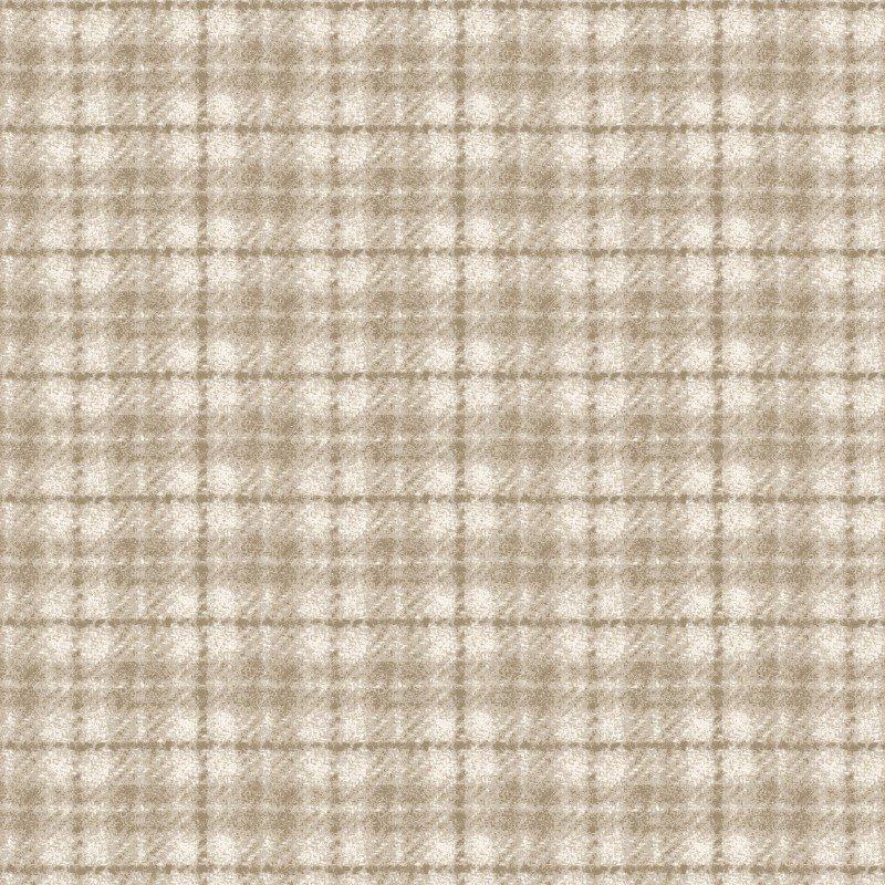 Woolies Flannel Plaid Ecru (MASF18502-E)