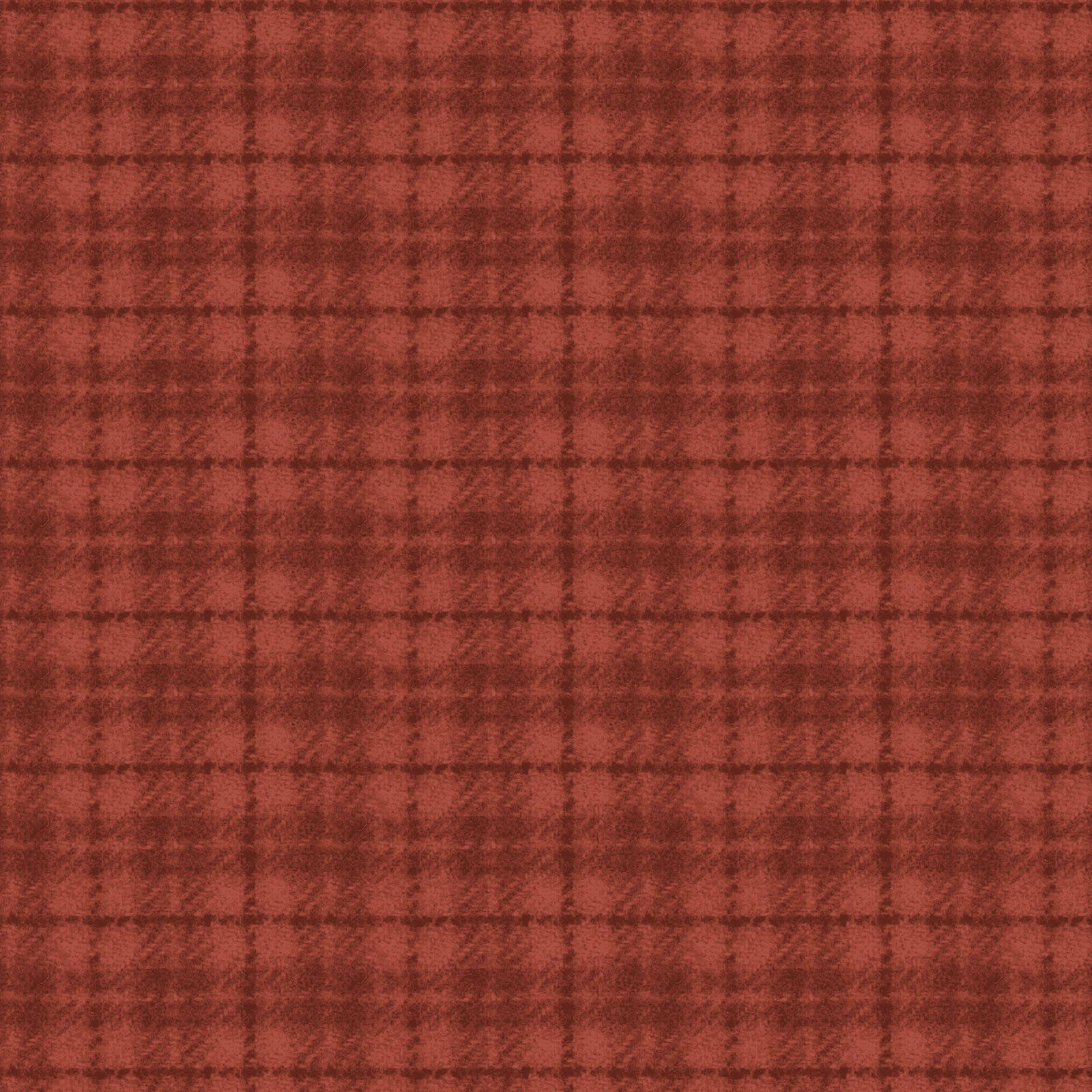 Woolies Flannel Plaid Red Orange (MASF18502-RO)