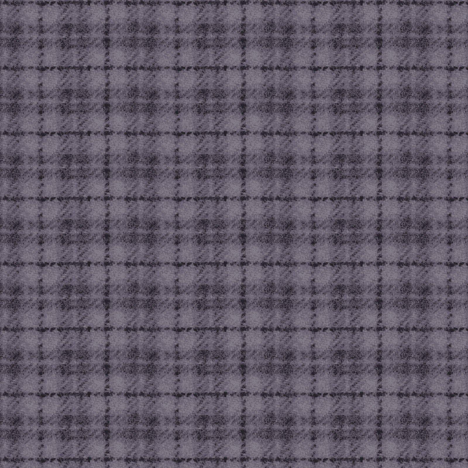 Woolies Flannel Plaid Dusty Purple (MASF18502-VB)