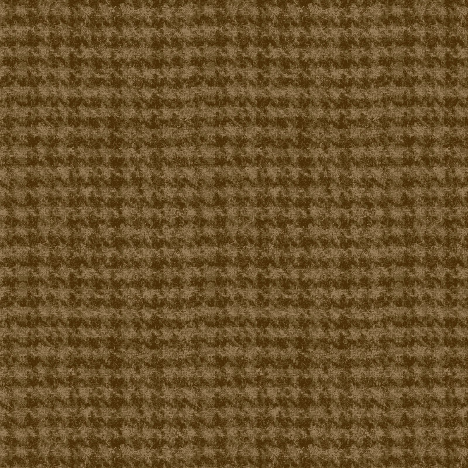 Woolies Flannel Houndstooth Medium Brown (MASF18503-A2)