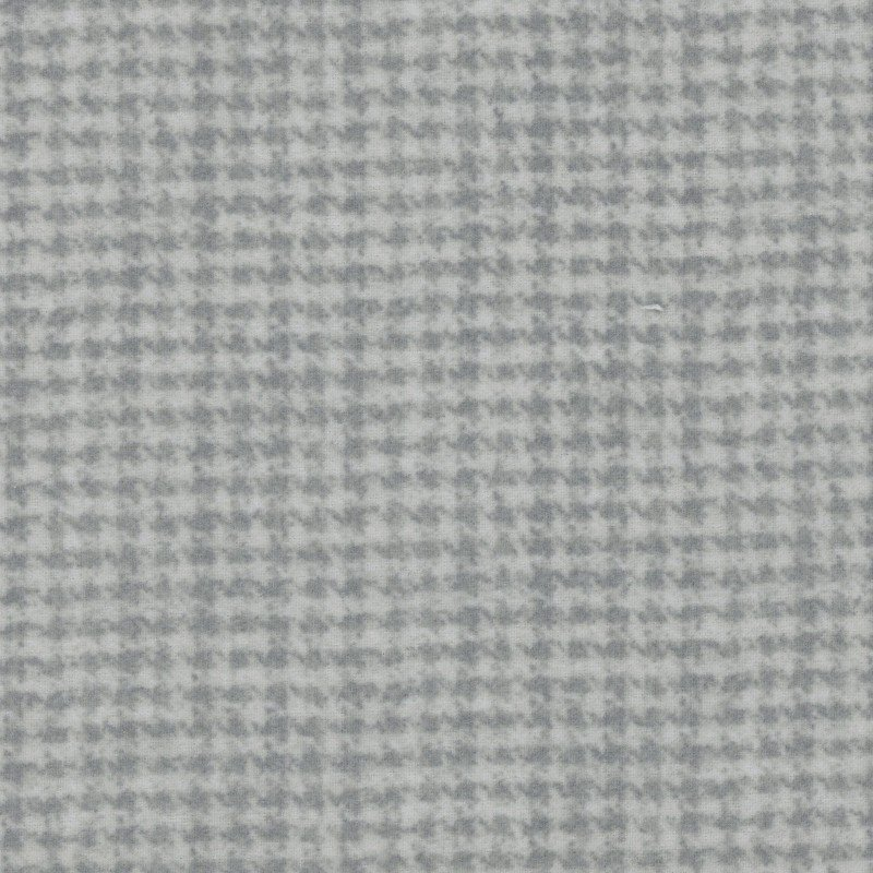 Woolies Flannel Houndstooth Gray (MASF18503-K)
