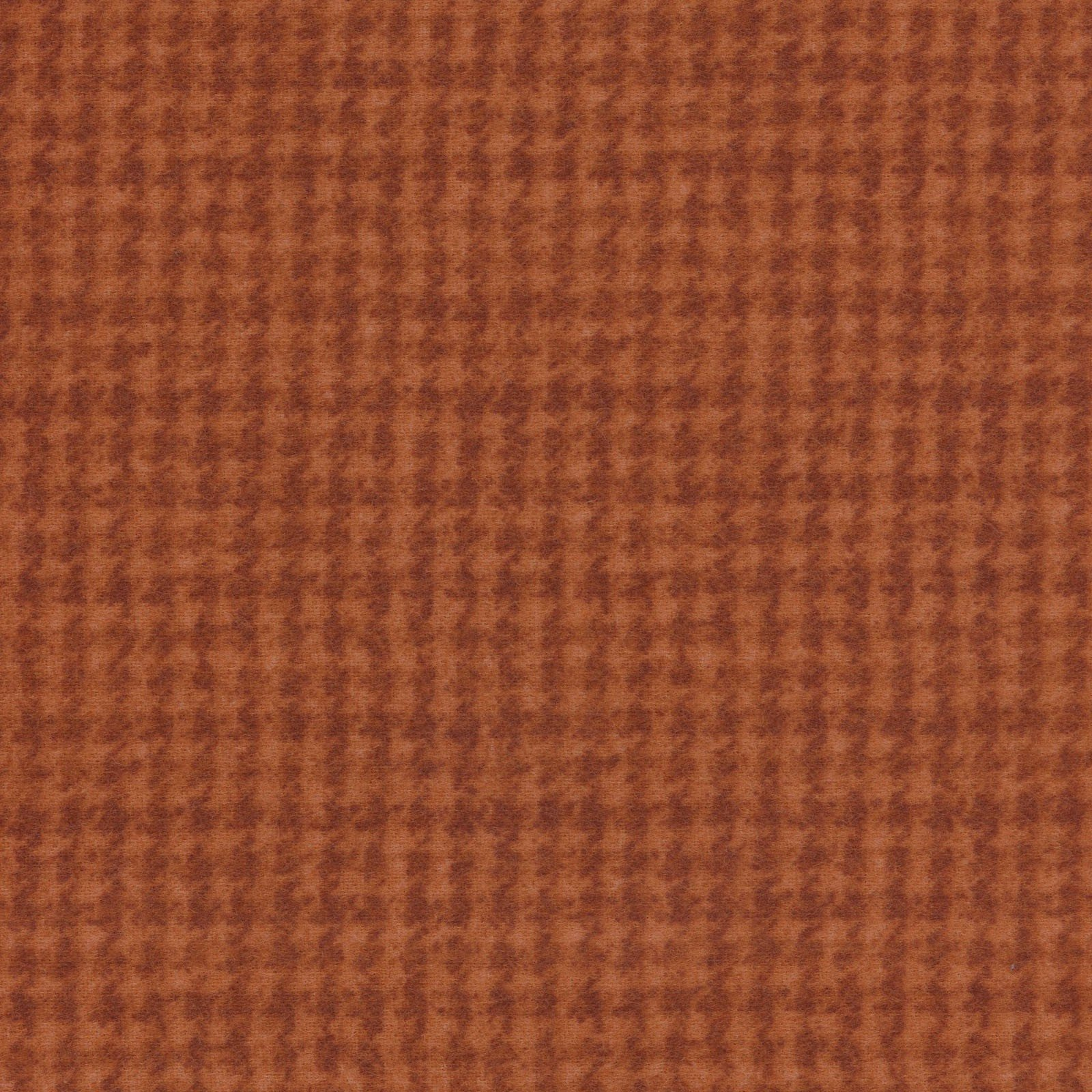 Woolies Flannel Houndstooth Orange (MASF18503-O)