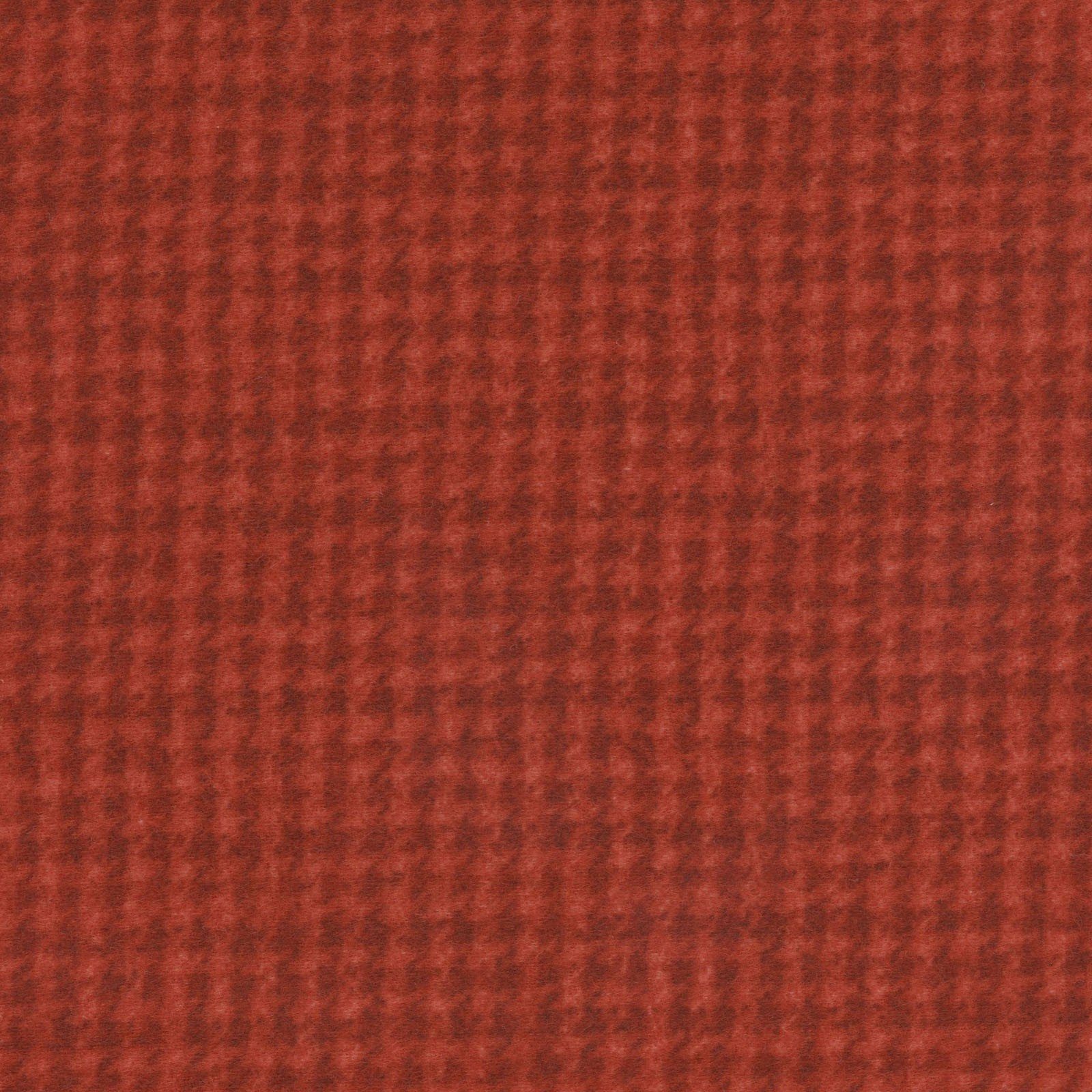 Woolies Flannel Houndstooth Red (MASF18503-R)