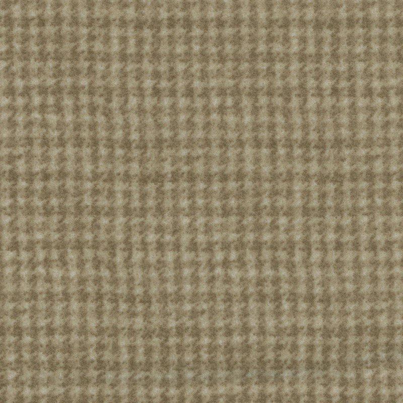 Woolies Flannel Houndstooth Tan (MASF18503-T)