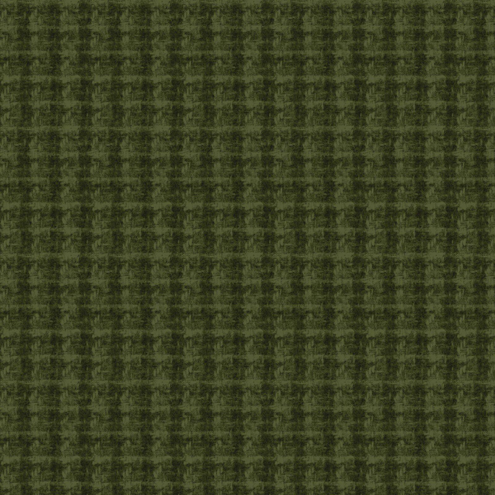 Woolies Flannel Double Weave Dark Green (MASF18504-G2)