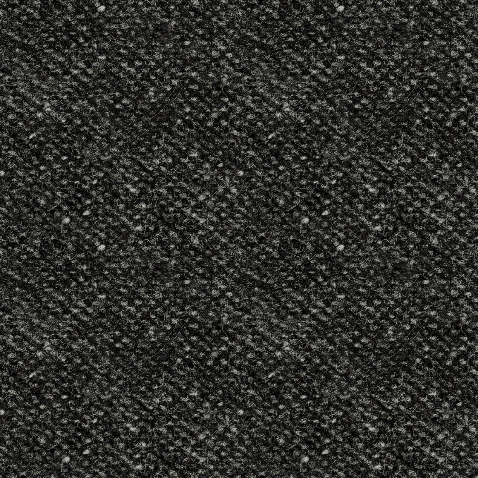 Woolies Flannel Nubby Tweed Black (MASF18507-JK)