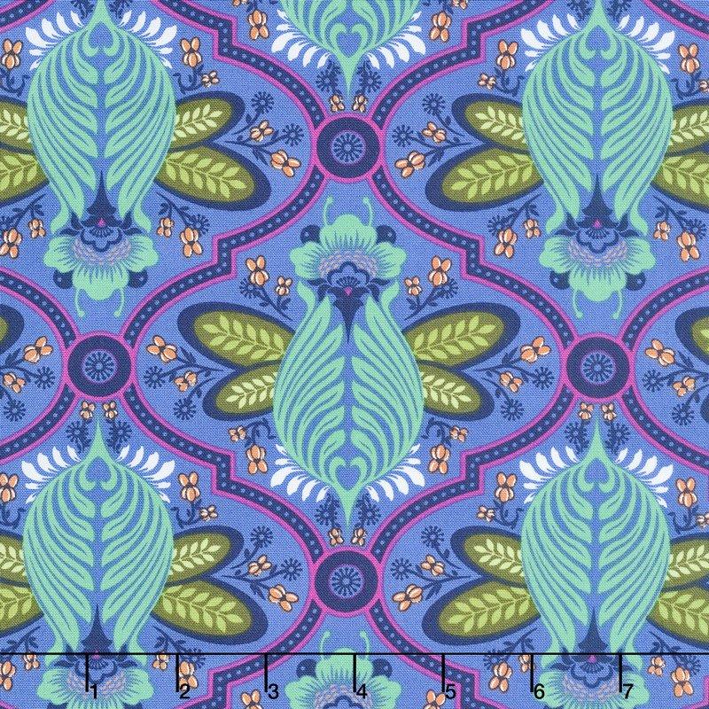 Tula Pink - All Stars - Bee in Iris