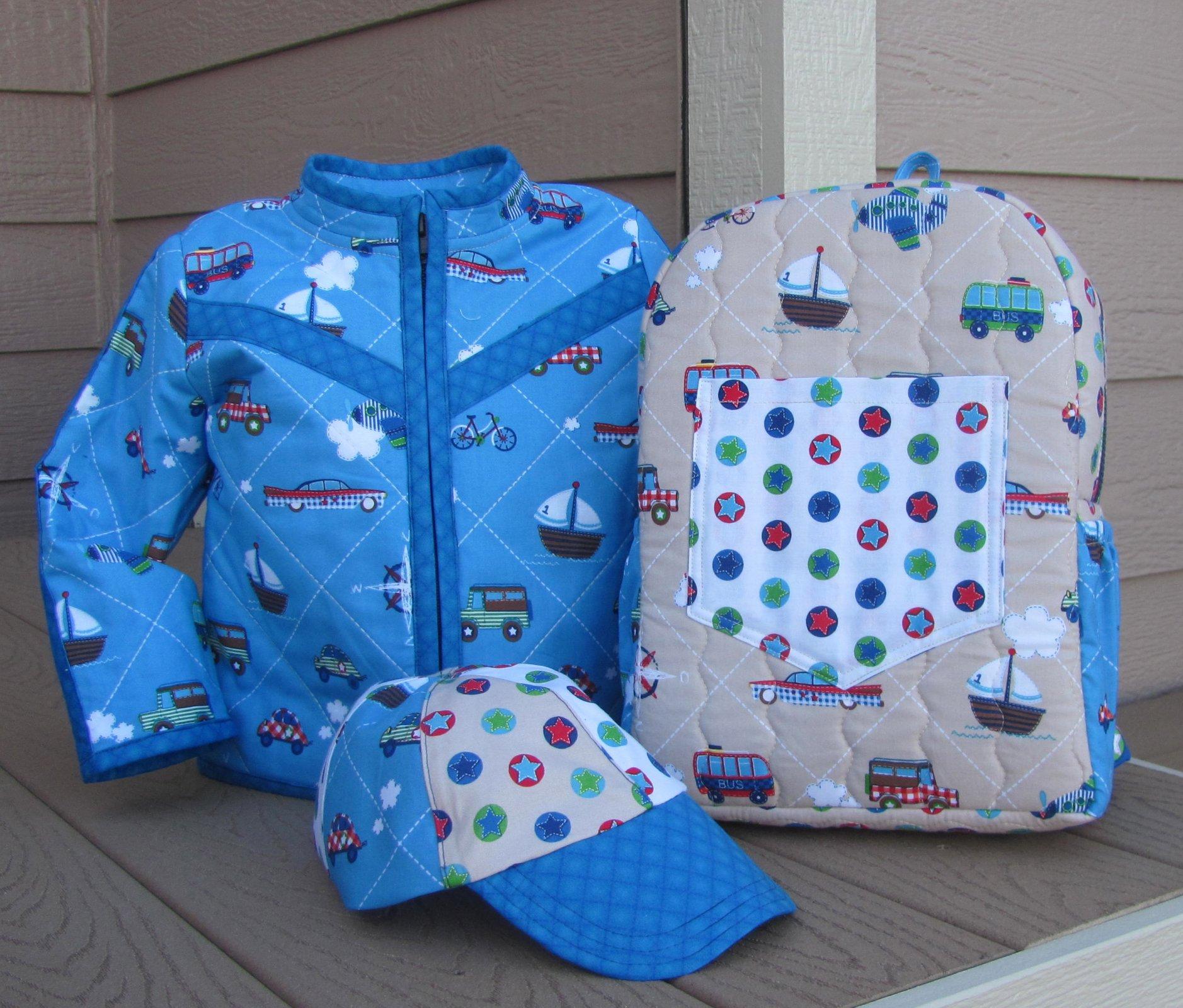 Half Pint Jacket - size 2/3 - Blue