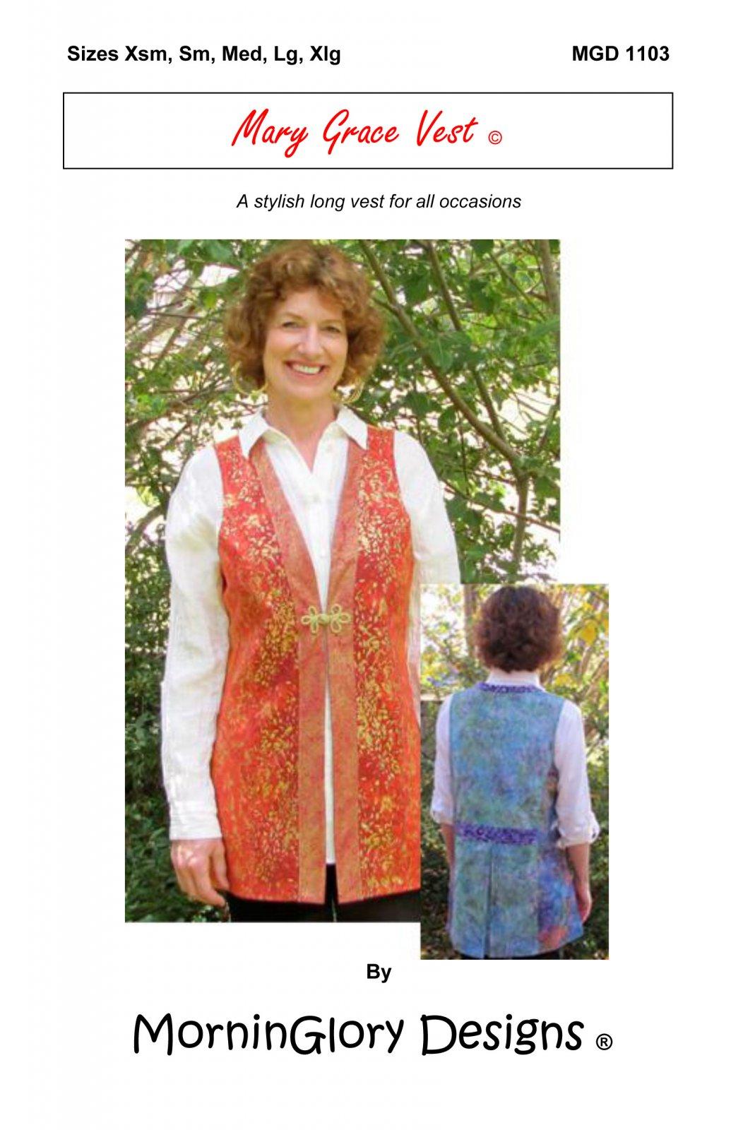 Mary Grace Vest MGD 1103