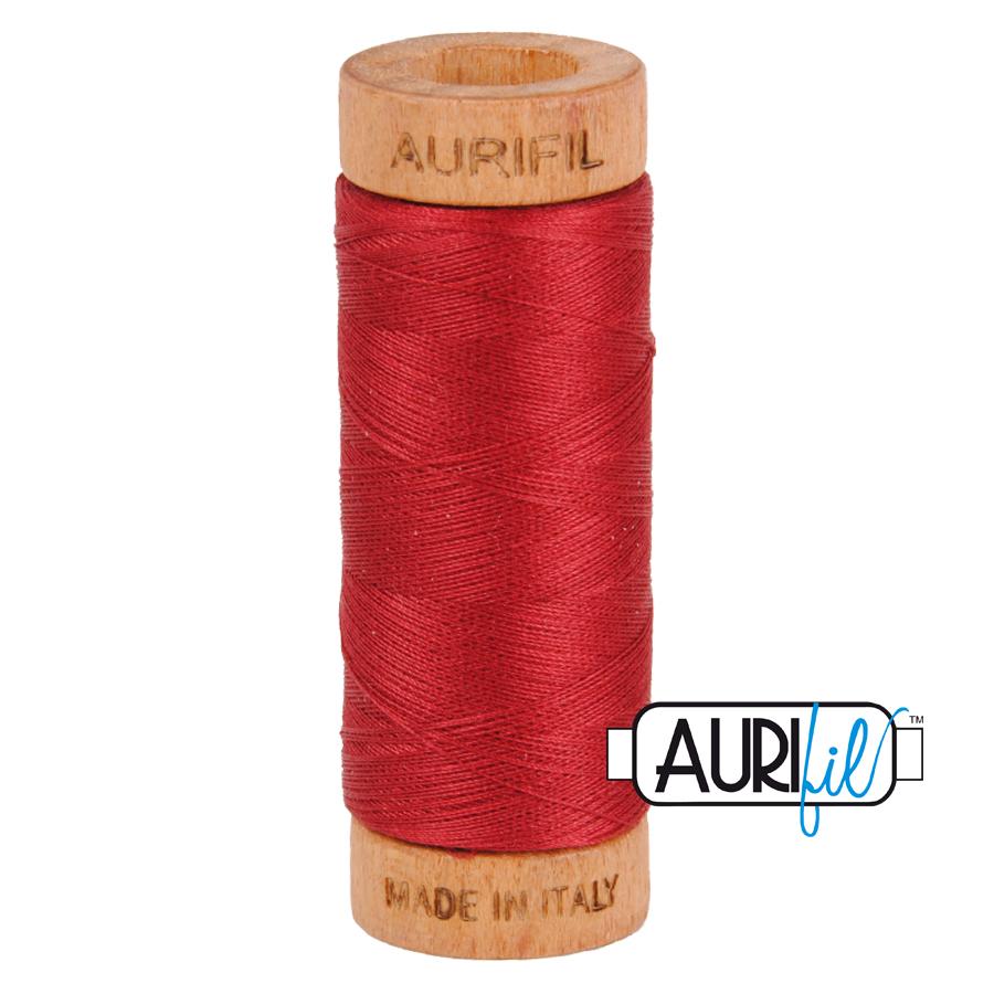 Aurifil 80wt Cotton Mako' 274m Spool