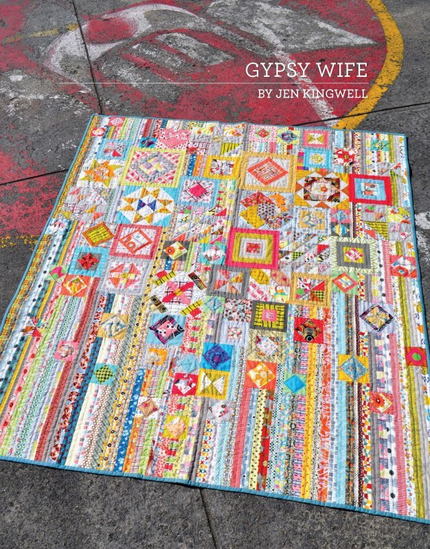 Gypsy Wife Pattern Booklet by Jen Kingwell