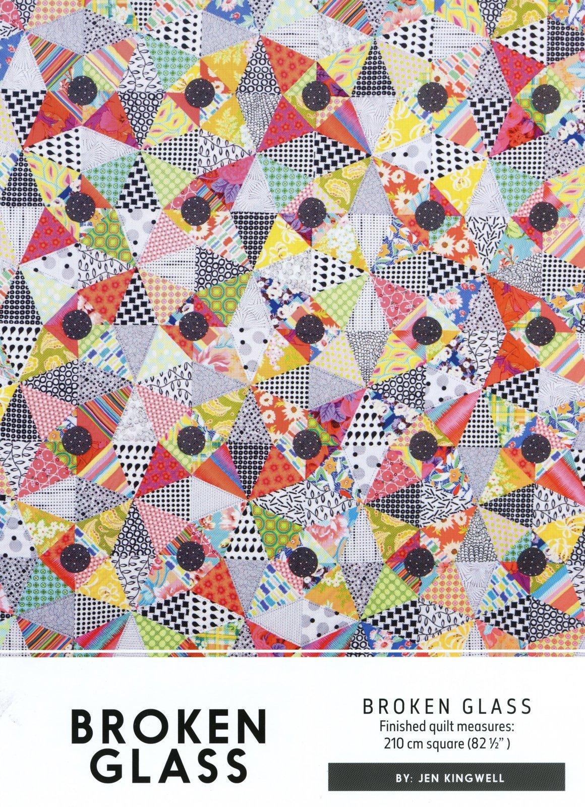 Broken Glass Pattern by Jen Kingwell