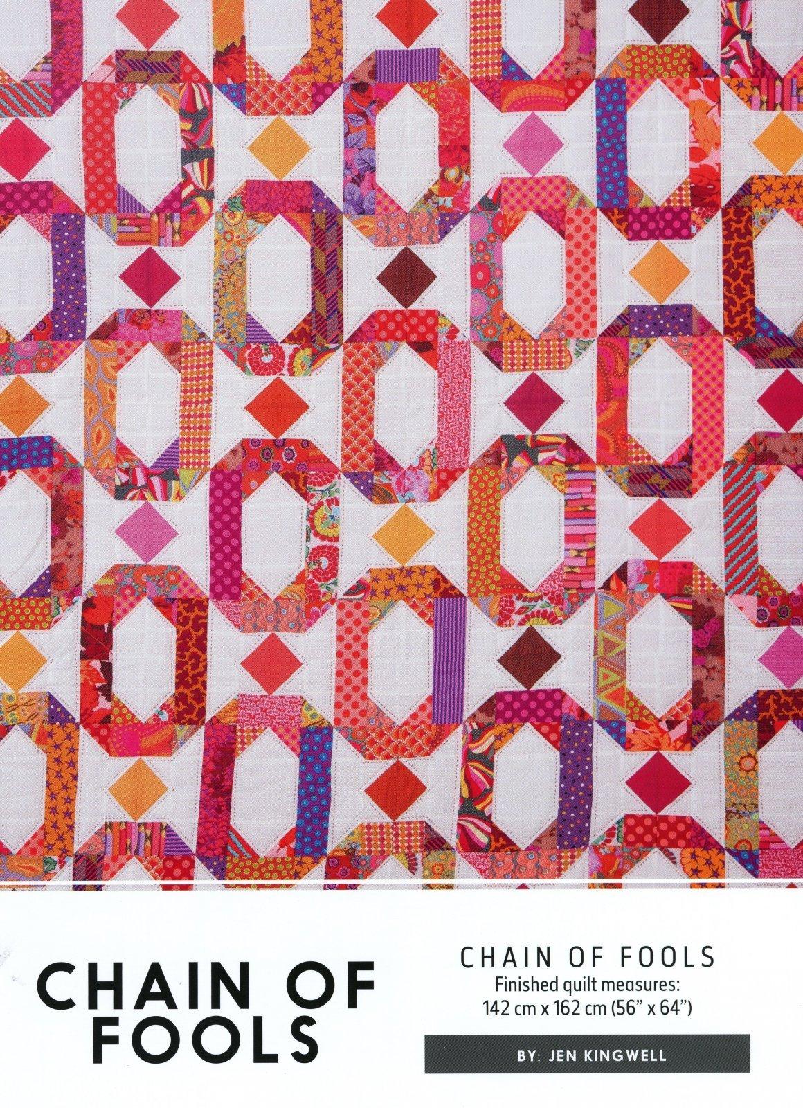 Chain Of Fools Pattern by Jen Kingwell
