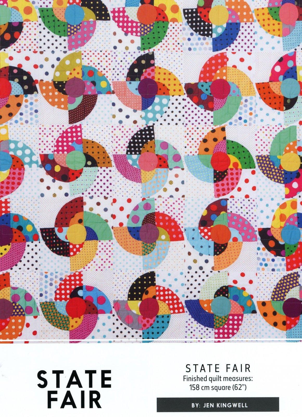 State Fair Pattern by Jen Kingwell