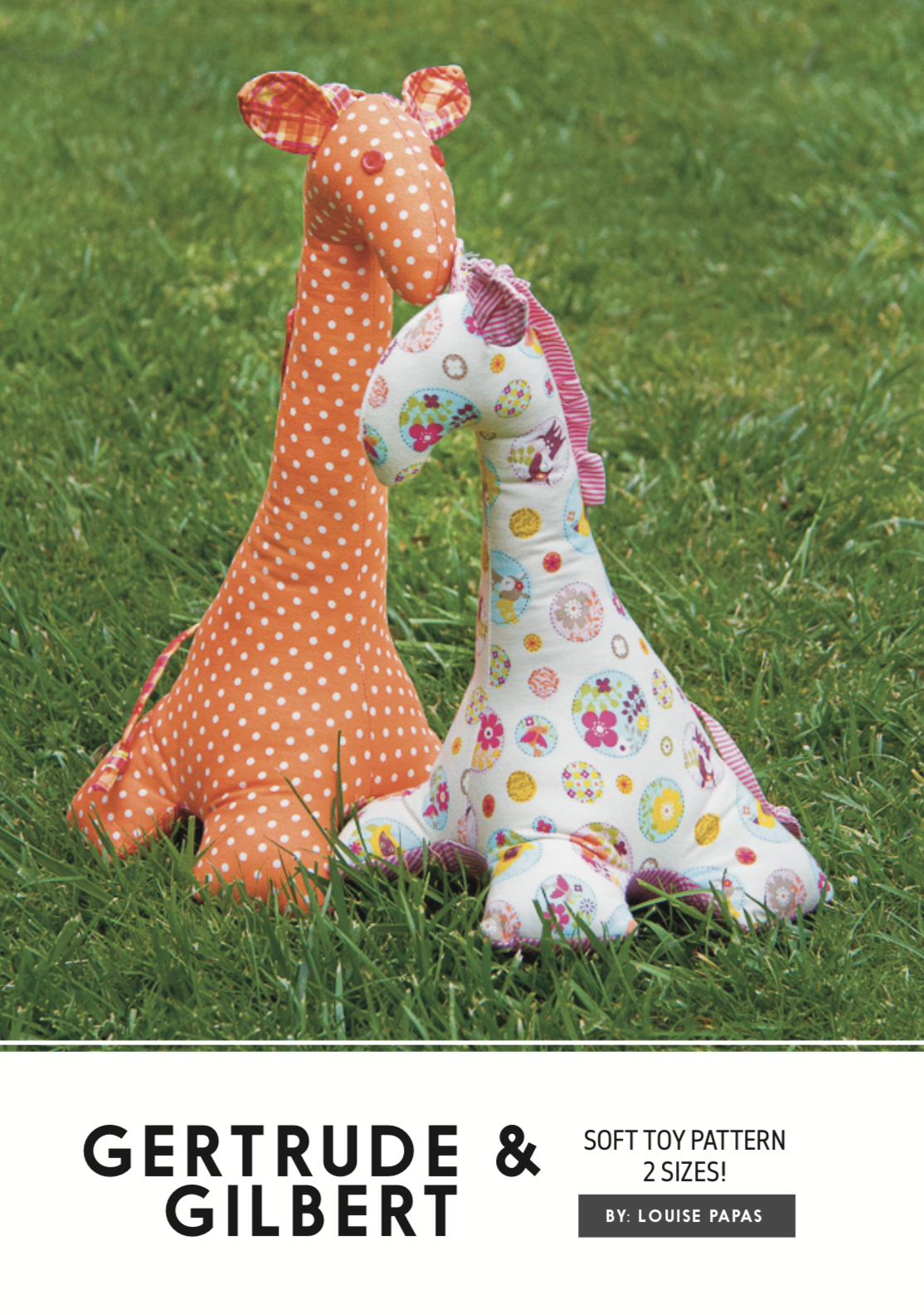 Gertrude & Gilbert Pattern by Louise Papas