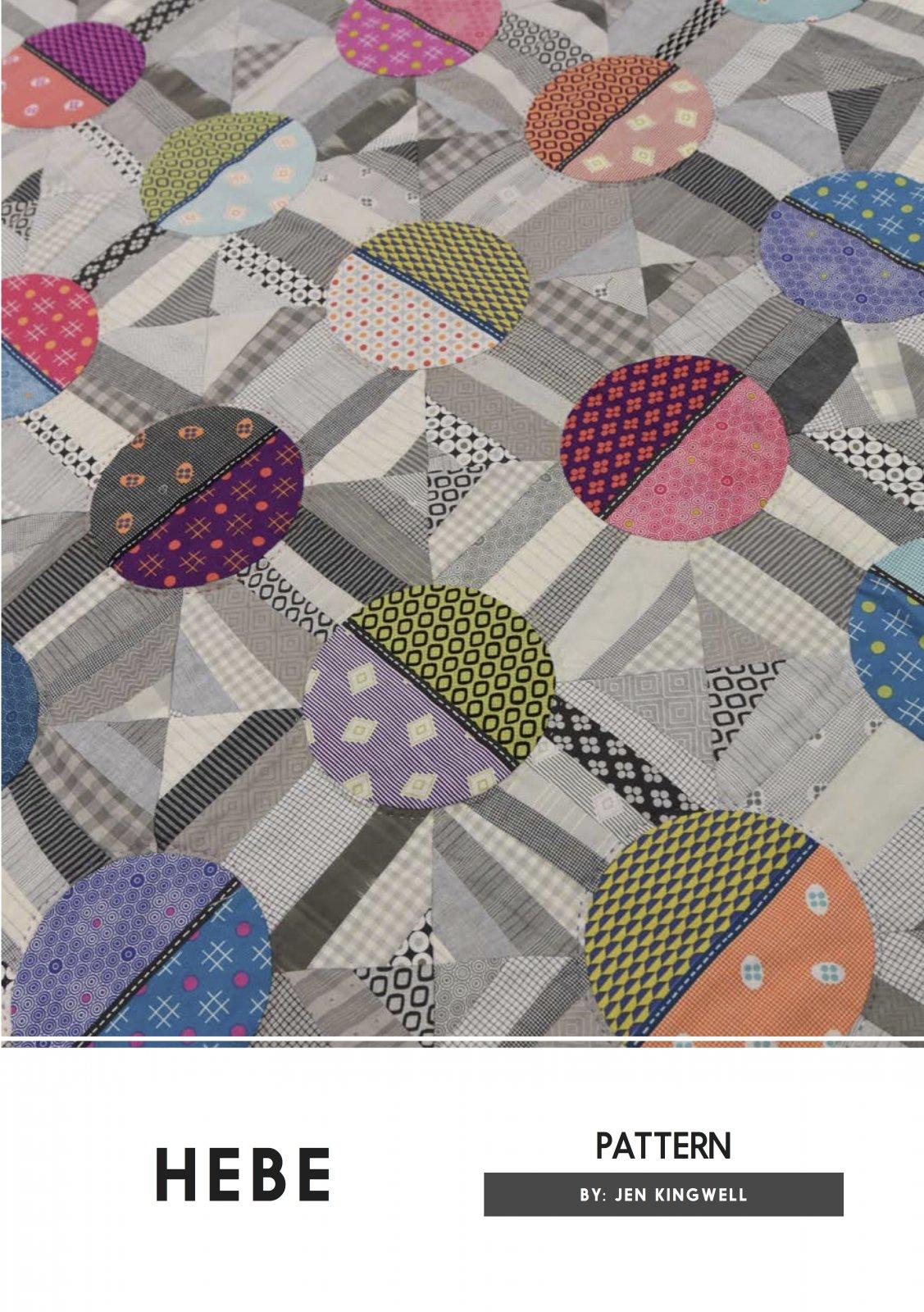 Hebe Pattern by Jen Kingwell