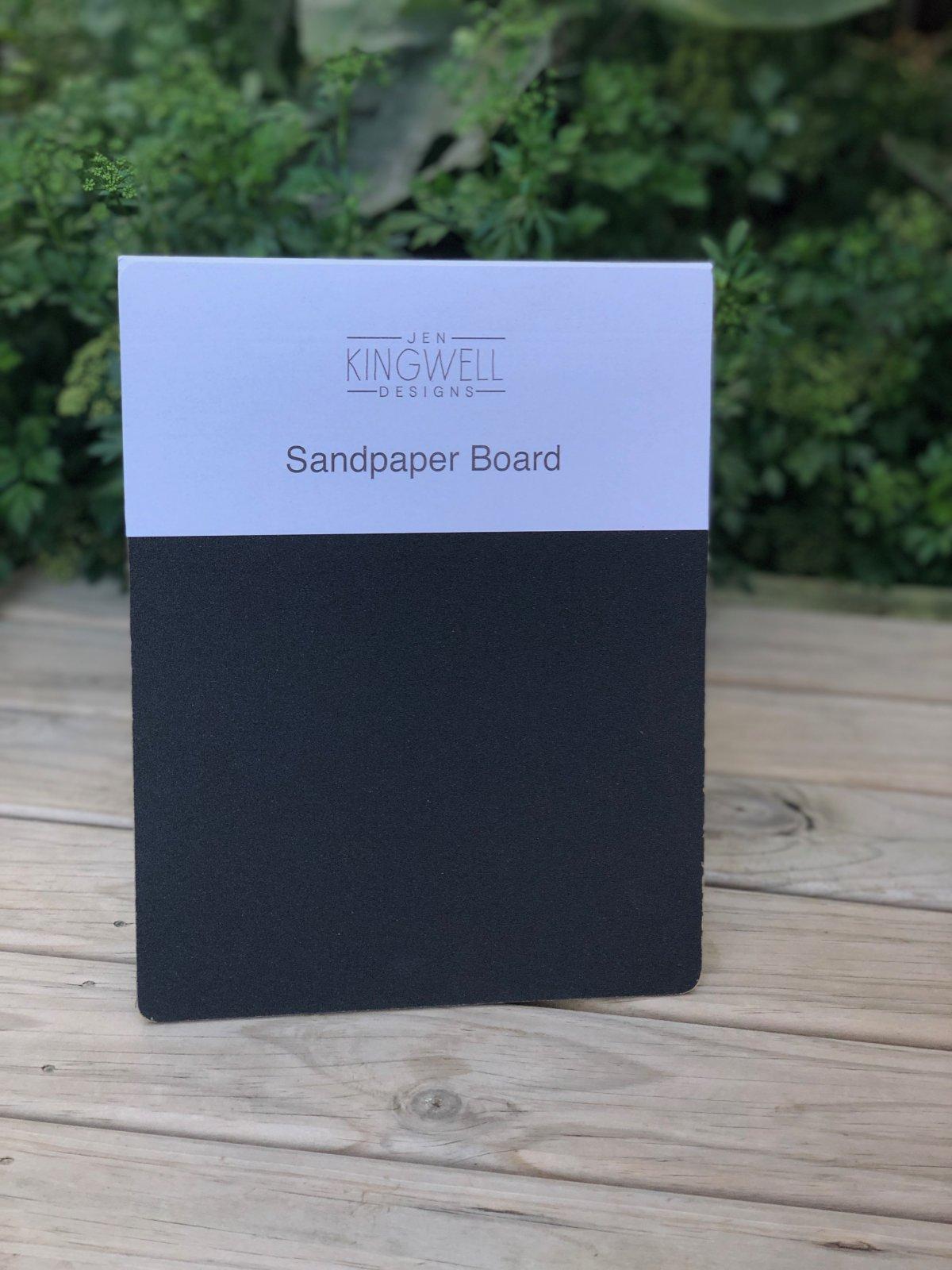 Sandpaper Board by Jen Kingwell