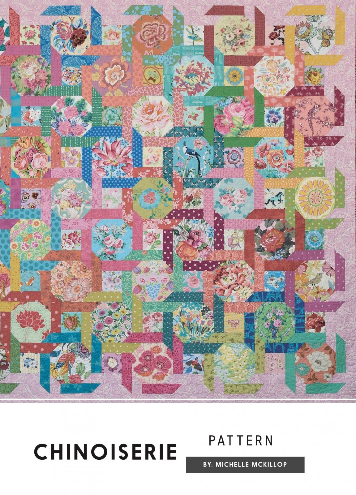 Chinoiserie Pattern by Michelle McKillop
