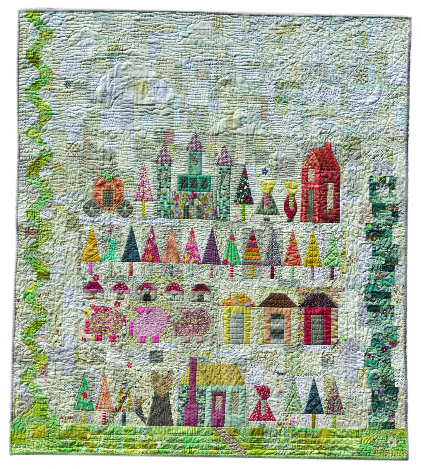 That Fairy Tale Quilt Booklet by Lucy Carson Kingwell : fairy tale quilt patterns - Adamdwight.com