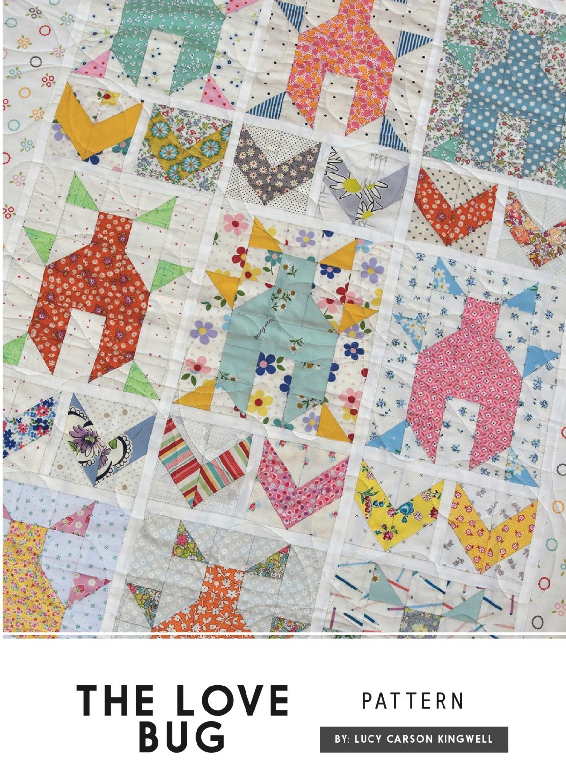 The Love Bug Pattern by Lucy Carson Kingwell