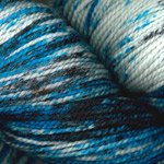 Plymouth Yarns Happy Feet 100 Splash 102 Blue Oreo