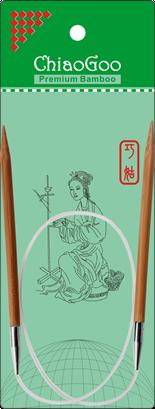 ChiaoGoo Bamboo Circular 24 US 9