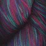 Plymouth Yarns Happy Feet 100 #16 Purple Teal Burgundy