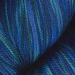 Plymouth Yarns Happy Feet 100 #124 Blue Purple Mix