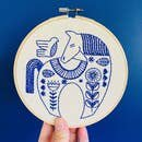 Hook, Line & Tinker Embroidery Kit - Hygge Horse