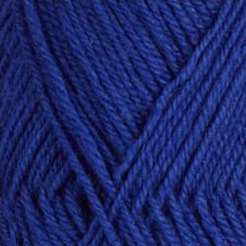 Rauma StrikkeGarn 3ply 167 Royal Blue