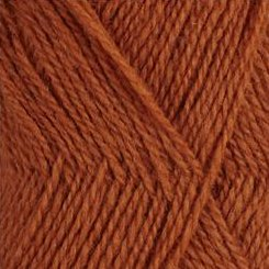 Rauma Finullgran 2ply 434 Burnt Orange