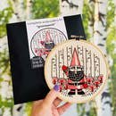 Hook, Line & Tinker Embroidery Kit - Gnomework