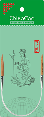 ChiaoGoo Bamboo Circular 16 US 4