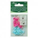 Clover Quick Locking Stitch Markers Medium