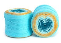 Concentric Cotton by Hikoo #2003 Aquatic