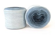 Concentric Cotton by Hikoo #2007 Shades of Denim