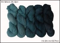Wonderland Yarns For Warmth Kit - #16 Shillings& Pence - Down the Rabbit Hole