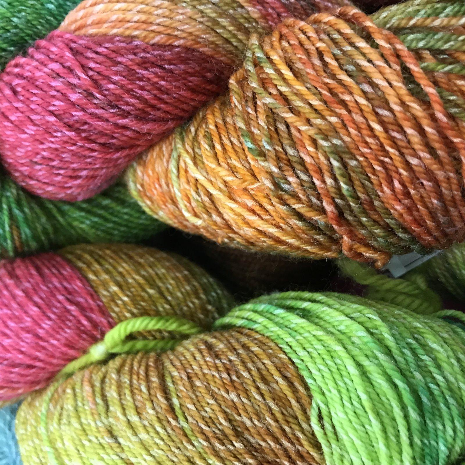 Mountain Colors Twizzlefoot Zinnia