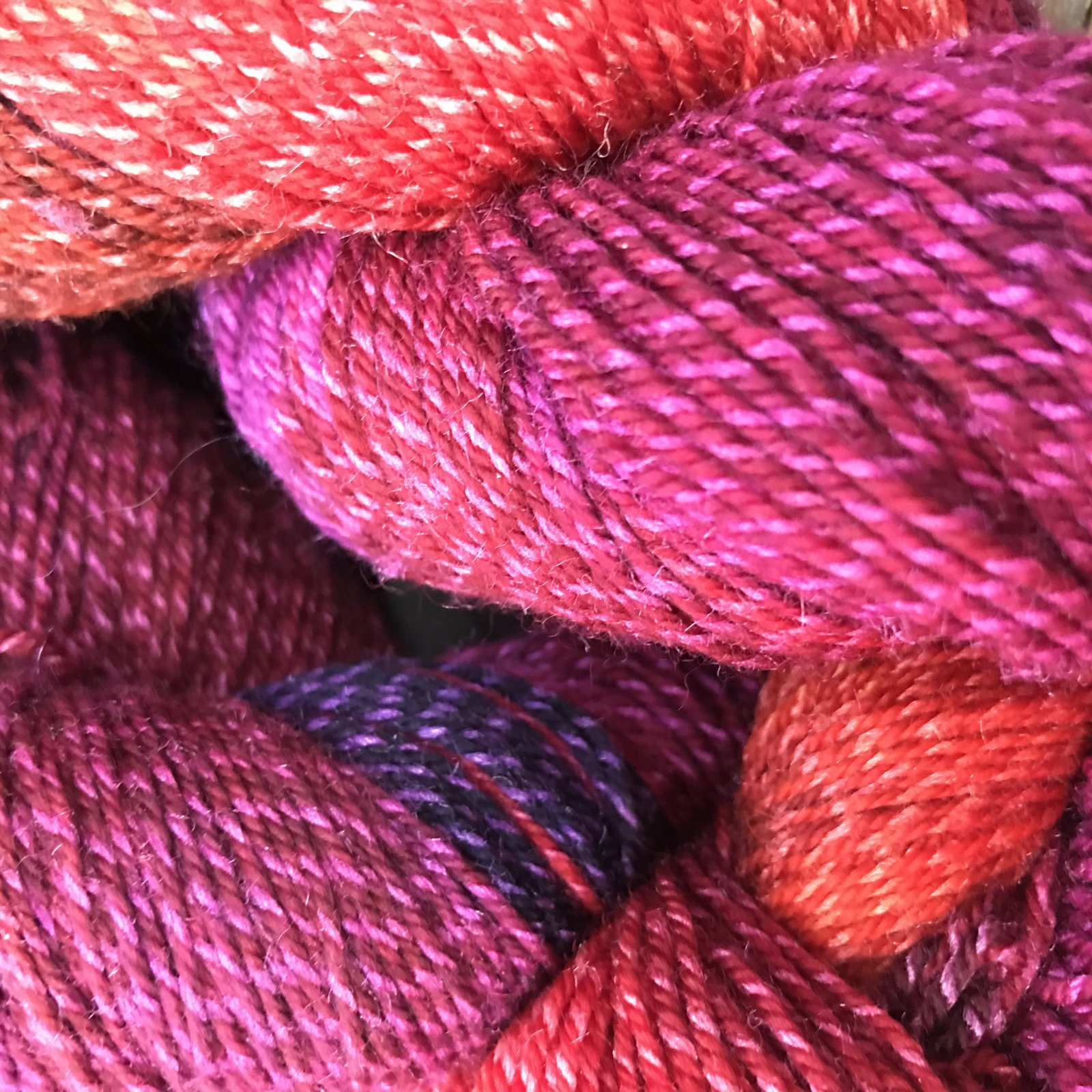 Mountain Colors Twizzlefoot Loganberry