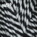 Plymouth Yarns Encore Mega #3086 Black/White