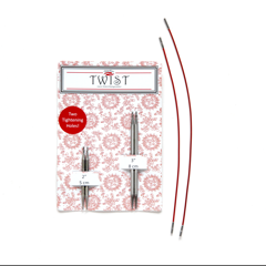 Twist Red Lace Mini Combo Set (Shorties) - US 2.5 3.0mm
