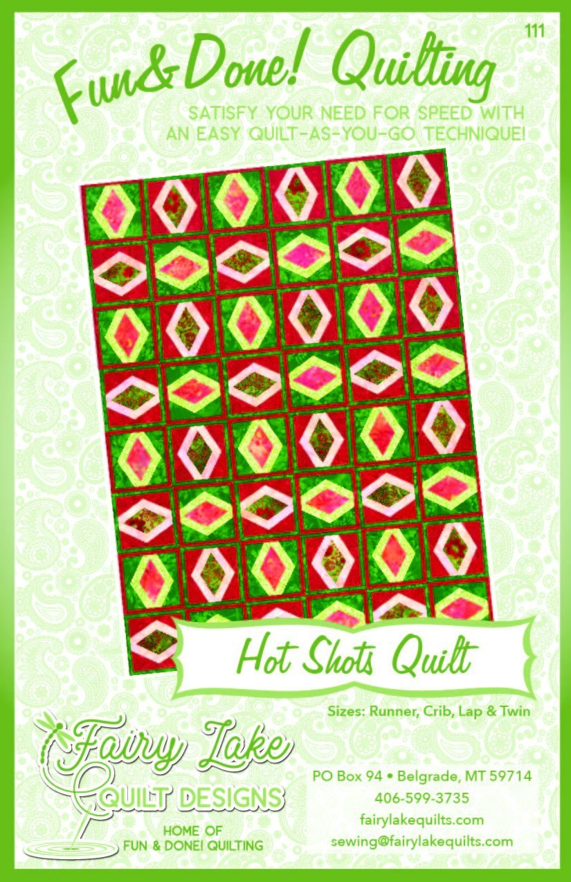 FUN & DONE Hot Shot Quilt Pattern - FLQD111