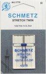 SCHMETZ STRETCH TWIN NEEDLE 4.0/75 - 1775