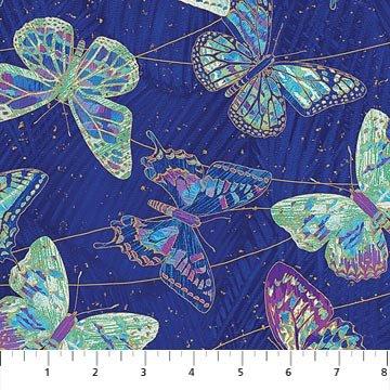 NORTHCOTT FANTASIA BUTTERFLIES 22957M4815