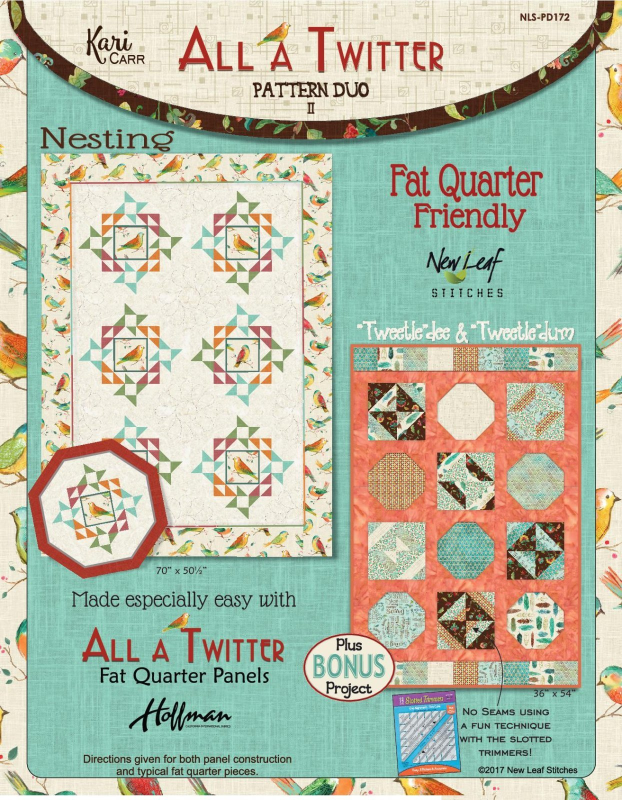 NEW LEAF STITCHES ALL A TWITTER DUO II